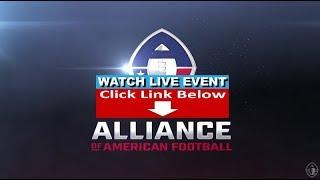 San Diego Fleet vs Atlanta Legends AAF Alliance of American Football LIVE STREAM