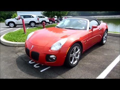 2007 Pontiac Solstice Gxp Start Up Exhaust And In Depth