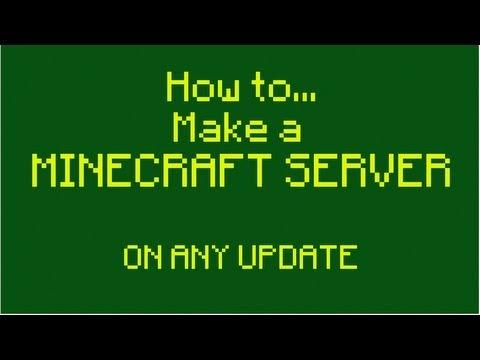 How to Port Forward/Make a Minecraft Server 1.8