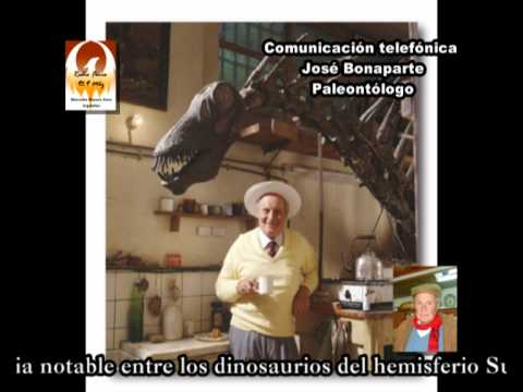 Prof. Dr. José Fernando Bonaparte  (Paleontólogo argentino)
