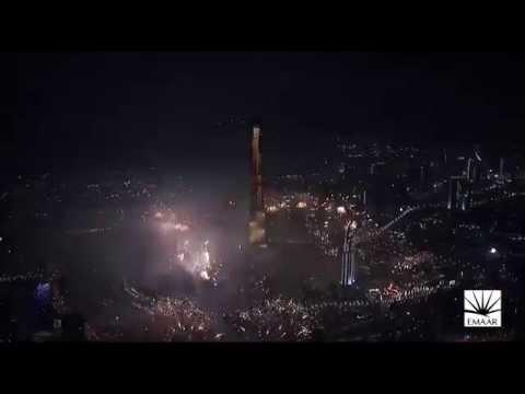 NYE 2015: Burj Khalifa & Downtown Dubai Light Up The Sky - Highlight Video!