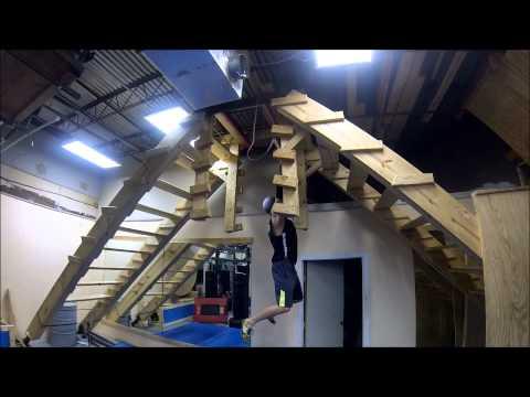 Ninja Warrior Training at Iron Sports #3