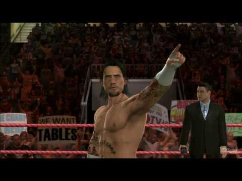 Wwe Smackdown Vs Raw 2010 'cm Punk Entrance' True-hd Quality video
