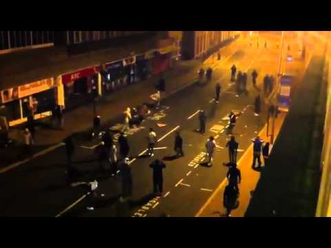 London Riots - Police Overrun in Woolwich