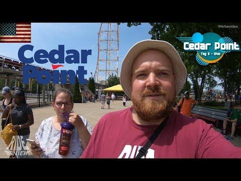 Alle Cedar Point Achterbahnen an einem Tag! - OnTour Vlog