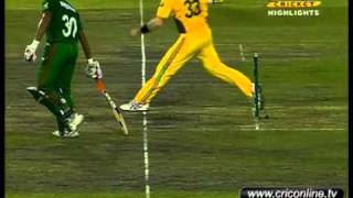 Bangladesh vs Australia 3rd odi 2011 Bangladesh bat part 2