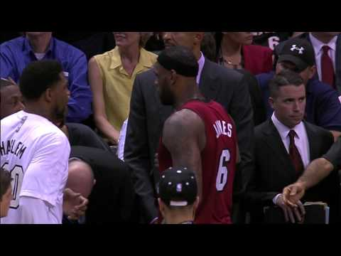 LeBron James Mic-d Up During Finals Game 1