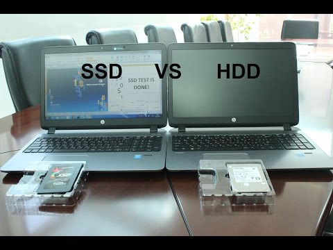 HDD vs. SSD Performance Comparison