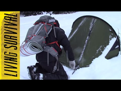 Snugpak Scorpion 2 Tent Overnight Test Winter Camping