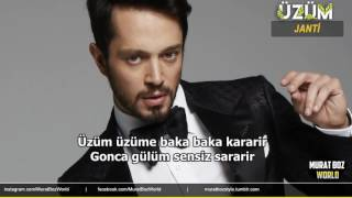 Murat Boz - Üzüm (Lyrics Video)