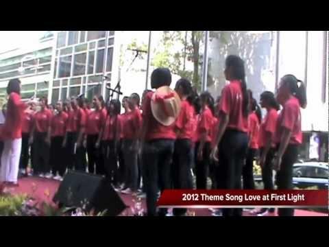 National Day 2012 Observance Ceremony LIVE Performance, Cedar Girls' Choir (Singapore)
