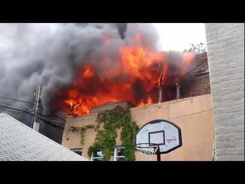 Fire In Boro Park 44th Street & 9th Ave