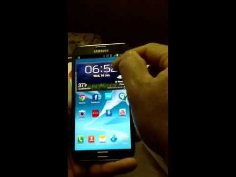 SAMSUNG GALAXY NOTE 2 FIRST LOOK AND STRAIGHT TALK SETUP.