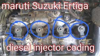 ERTIGA INJECTOR COADING 2014+ || MARUTI SUZUKI VDI DIESEL