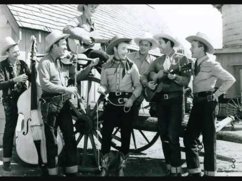 Roy Rogers & Sons Of The Pioneers - Tumbling Tumbleweeds