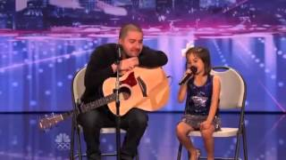 America's Got Talent 2012 Father and Daughter singing