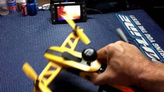 FPV Latency Test Review - RISE Vusion Extreme FPV Racing Quad Race Pack RTF 200mW