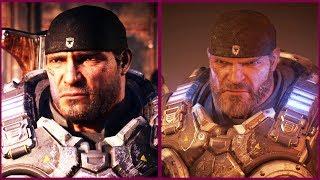 Gears of War 5 vs Gears of War 4 Comparison Xbox One X vs PC Head to Head Comparison
