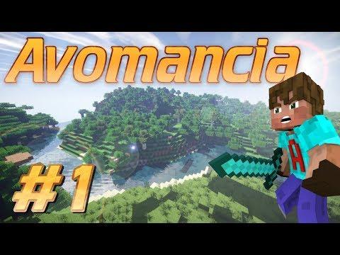 Minecraft Survival Gaming | Avomancia | A Minecraft Survival Adventure Lets Play Ep1