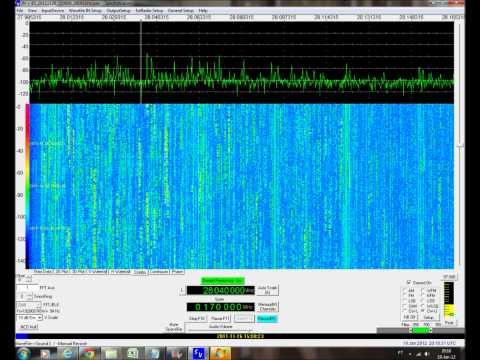 CQ WW CW 2011 SDR TOP STATIONS ON 28MHZ 15:00 - 15:15Z