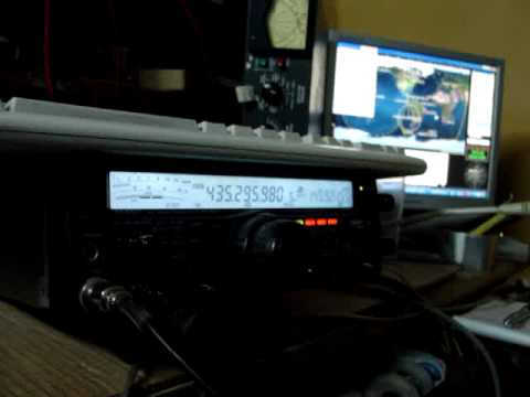 MOV00658 CE3RR AO-51 CE2WGD Satellite ham-radio Yaesu FT-847 sat ham radio ca3soc hamradio