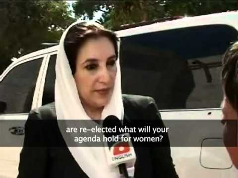 Benazir Bhutto exclusive interview by Sabin Agha
