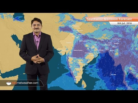 Monsoon 2016 Forecast for July 8: Good Monsoon rains in Uttar Pradesh and Madhya Pradesh