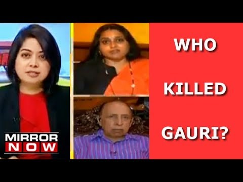 Why Support Gauri Lankesh' Killers? | The Urban Debate With Faye D'Souza