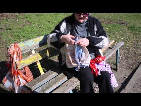 Как сделать сумку из платка за 5 минут