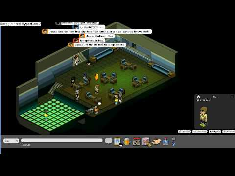 Habbo rooms  banned