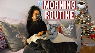 REALISTIC AF WINTER MORNING ROUTINE 2018 | VLOG STYLE |  ohmglashes