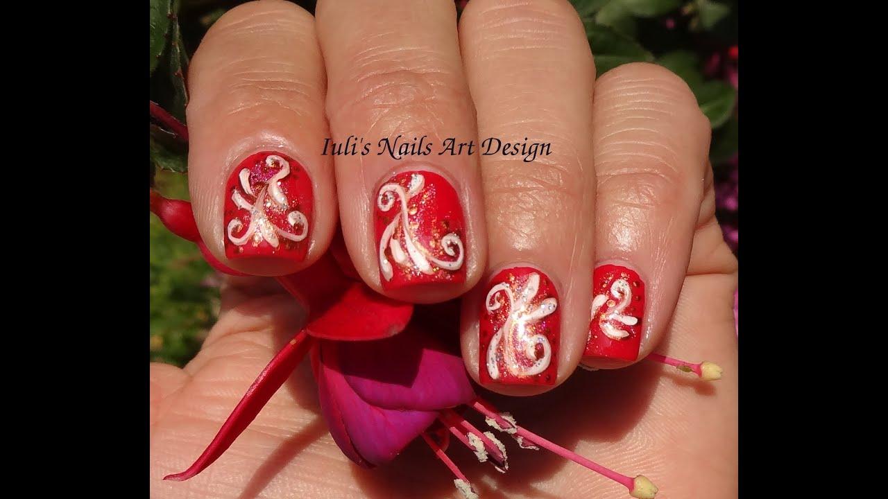 30 inspiring red nail art designs for wedding 201516