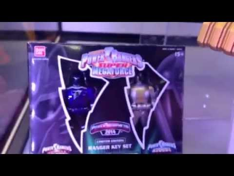 Power Rangers SDCC NEW TOYS (Bandai Booth)
