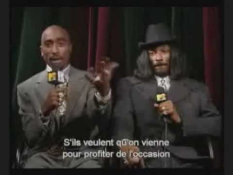 2pac & snoop dogg interview en vostfr