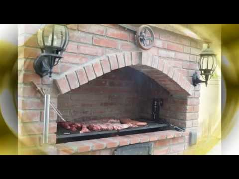 Parrilla argentina de ladrillo youtube for Construccion de chimeneas de ladrillo