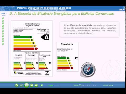 QiSat - Etiquetagem Eficiência Energética Edifício - Etiqueta para Edifícios Comerciais Parte 1