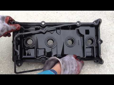 How To Fix Oil Leak - Valve Cover Gasket Replacement - Nissan Altima 2003 2.5 SL