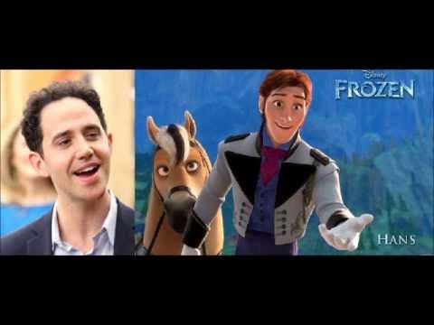 The Cast of Disney's FROZEN Singing