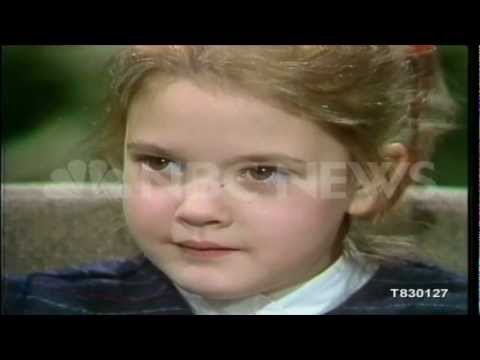1983: Actress Drew Barrymore Discusses Her Career & ET - www.NBCUniversalArchives.com