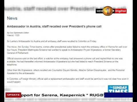 president recalls to|eng