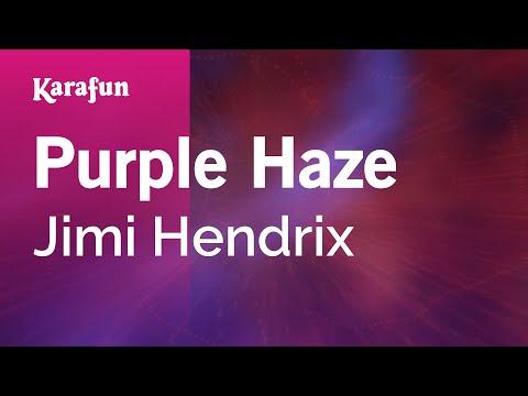 Karaoke Purple Haze - Jimi Hendrix *