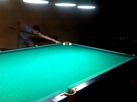 32908. просмотров. Бильярдный трюк. Billiard trick.