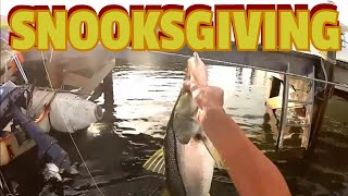 Happy Snooksgiving - Snook Fishing