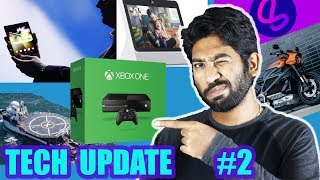 Tech Update #2 | FaceBook Portal, Lasso | Samsung Foldable Phone | 5G iPhone | SpaceX Go Searcher