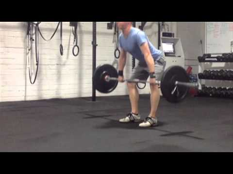 Power Clean Introduction & Coaching Cues - CrossFit Ireland Image 1