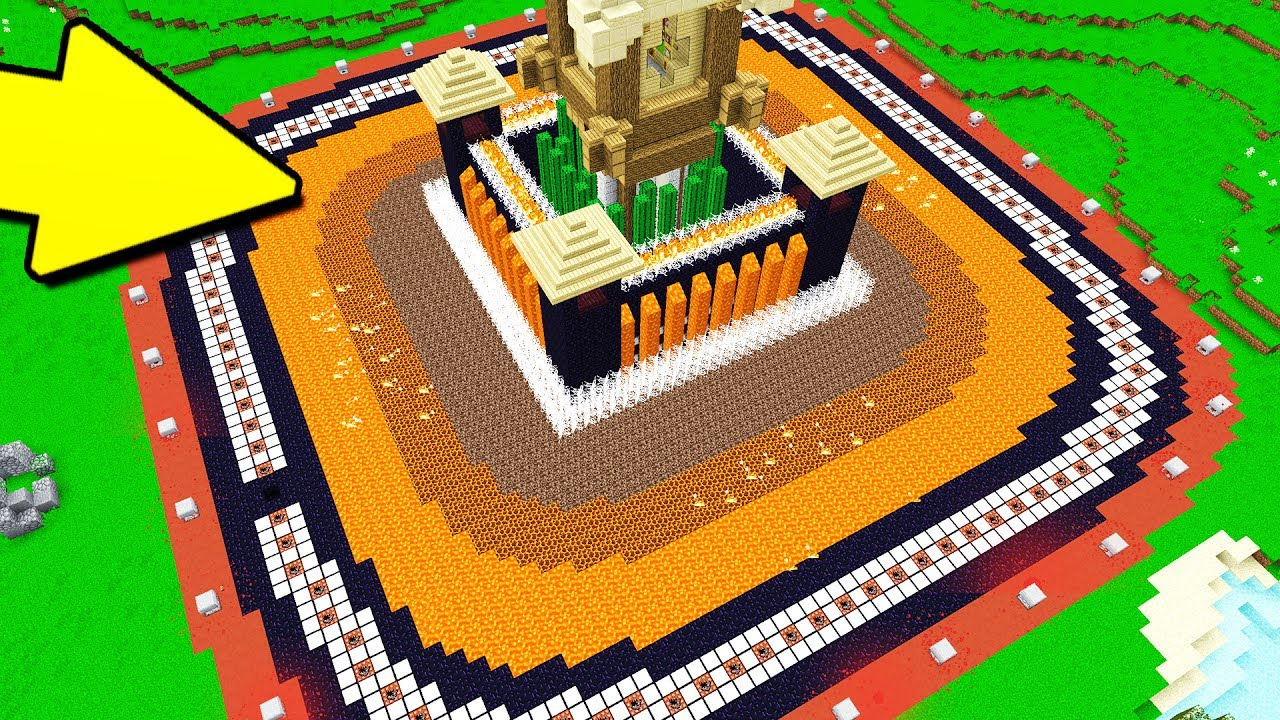 DON'T MESS WITH THIS MINECRAFT CASTLE..