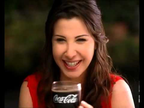 نانسي عجرم اعلان كوكا كولا