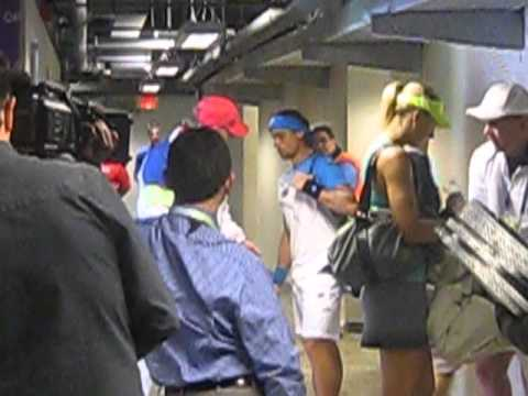 Sharapova exits Ferrer enters the stadium an inside out look 2013 Sony Open Miami Jblazed.com Mar27