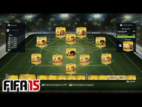 MEU TIME DA BARCLAYS + DICAS [FIFA 15 - ULTIMATE TEAM]