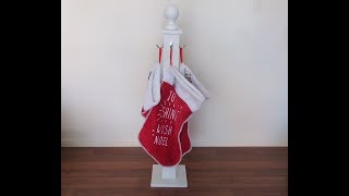 North Pole Stocking Holder